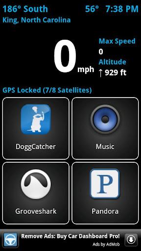 Car Dashboard Free screenshot 1