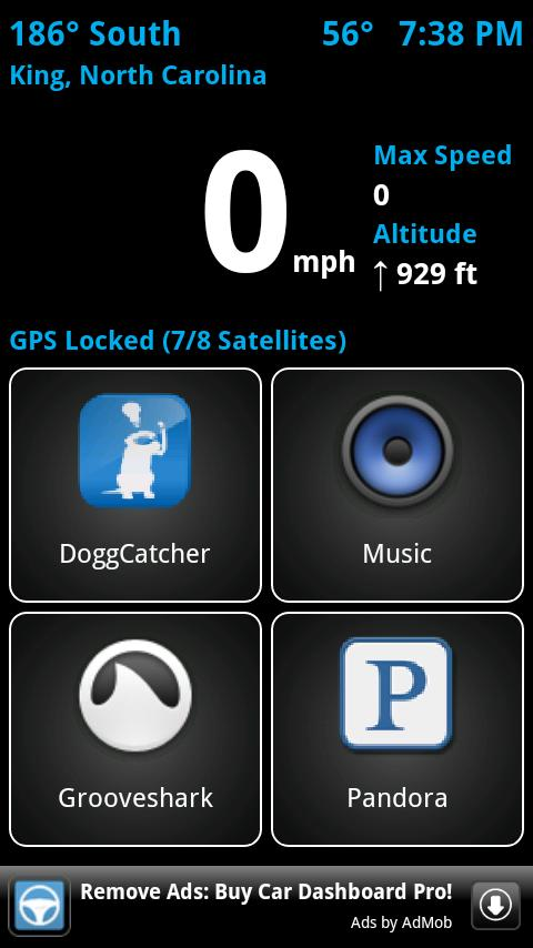 Car Dashboard (Free)- screenshot