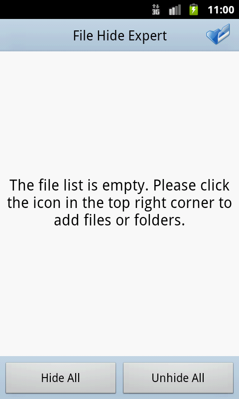 File Hide Expert - screenshot