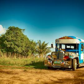 JEEPNEY by Gene Uz Espina - Transportation Other ( jeepneys, gespinaphotography, landscape photography, transportation, philippines )