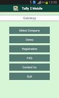 Screenshot of Tally 2 Mobile