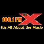 100.1 FM The X icon