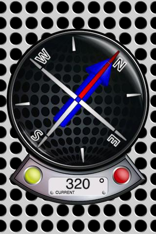 3D Compass and Magnetometer - screenshot