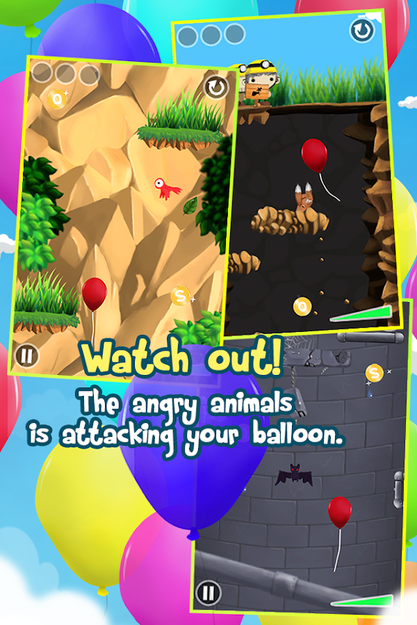 SOS Balloon - screenshot