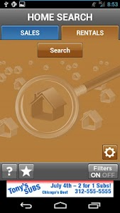 Home Search Demo screenshot 0