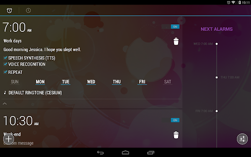 WakeVoice - vocal alarm clock Screenshot 8