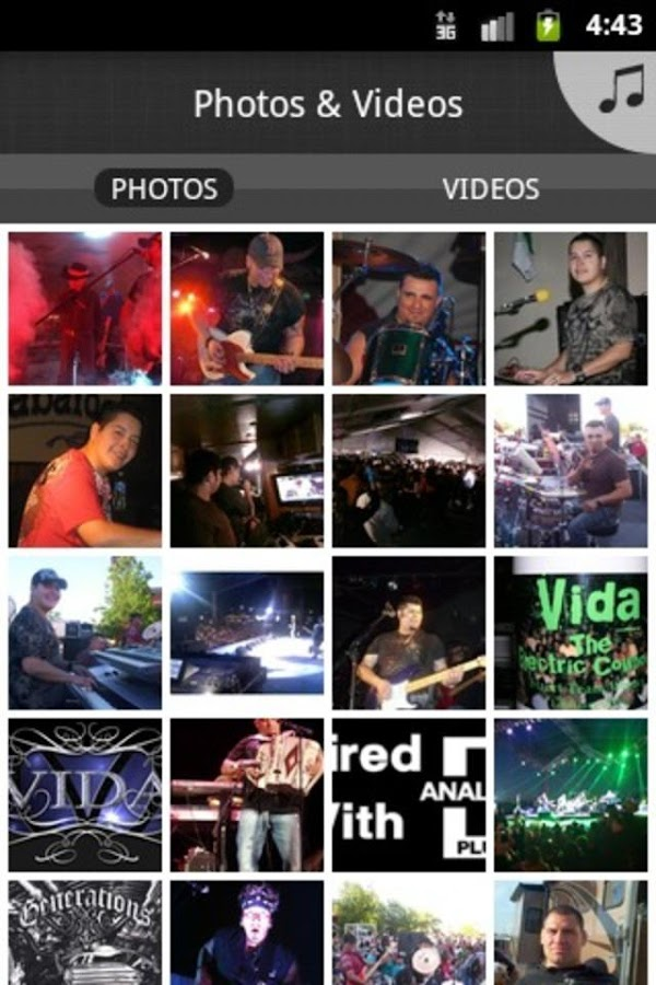 Grupo Vida Three Time Grammy N - screenshot
