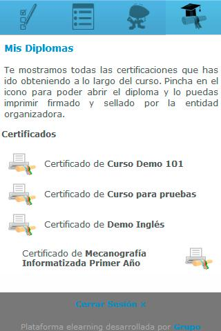 todos tus cursos- screenshot