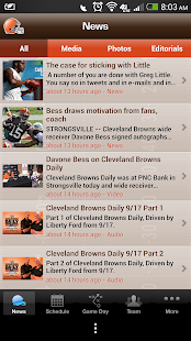 Cleveland Browns - screenshot thumbnail