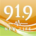 New Life 91.9 logo