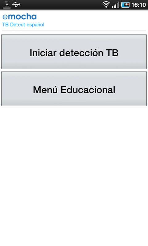 eMOCHA TB DETECT Español- screenshot