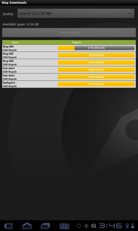 Outdoor Offline Maps - screenshot