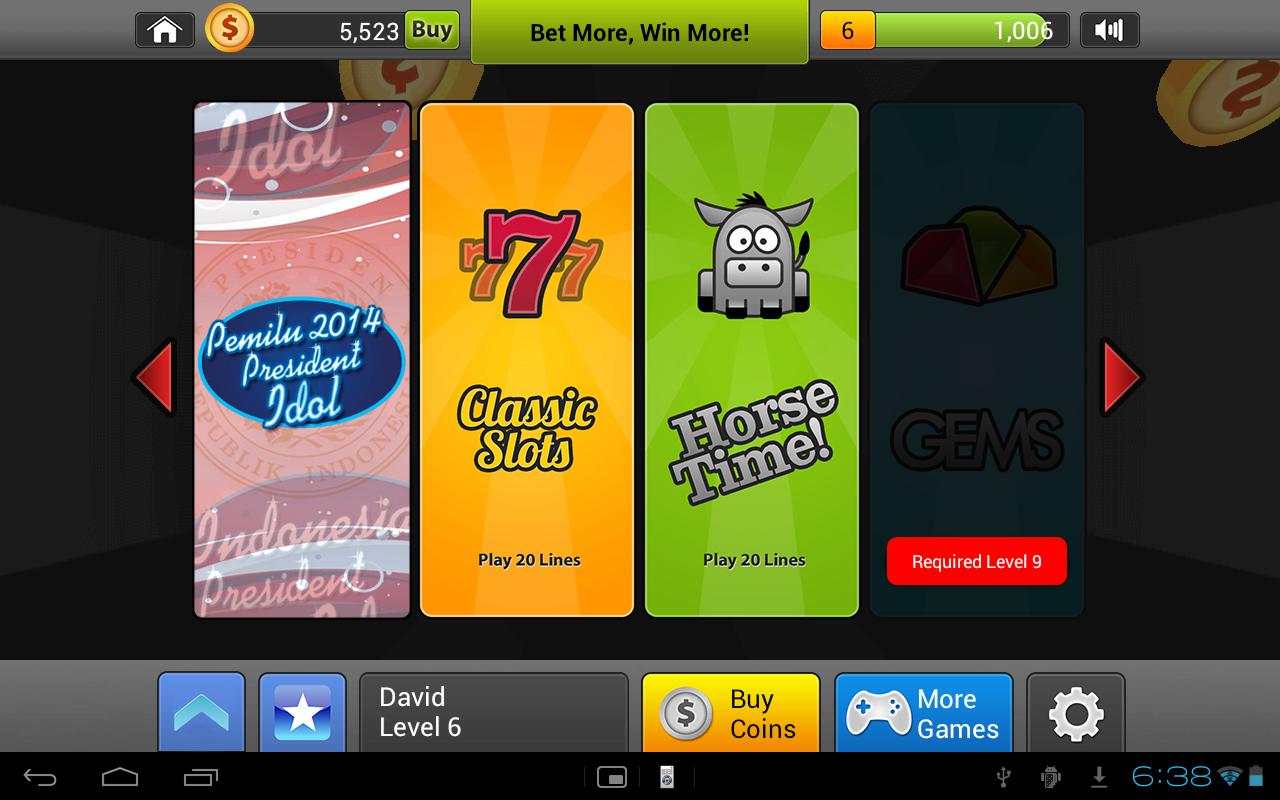 Pemilu Slots - screenshot