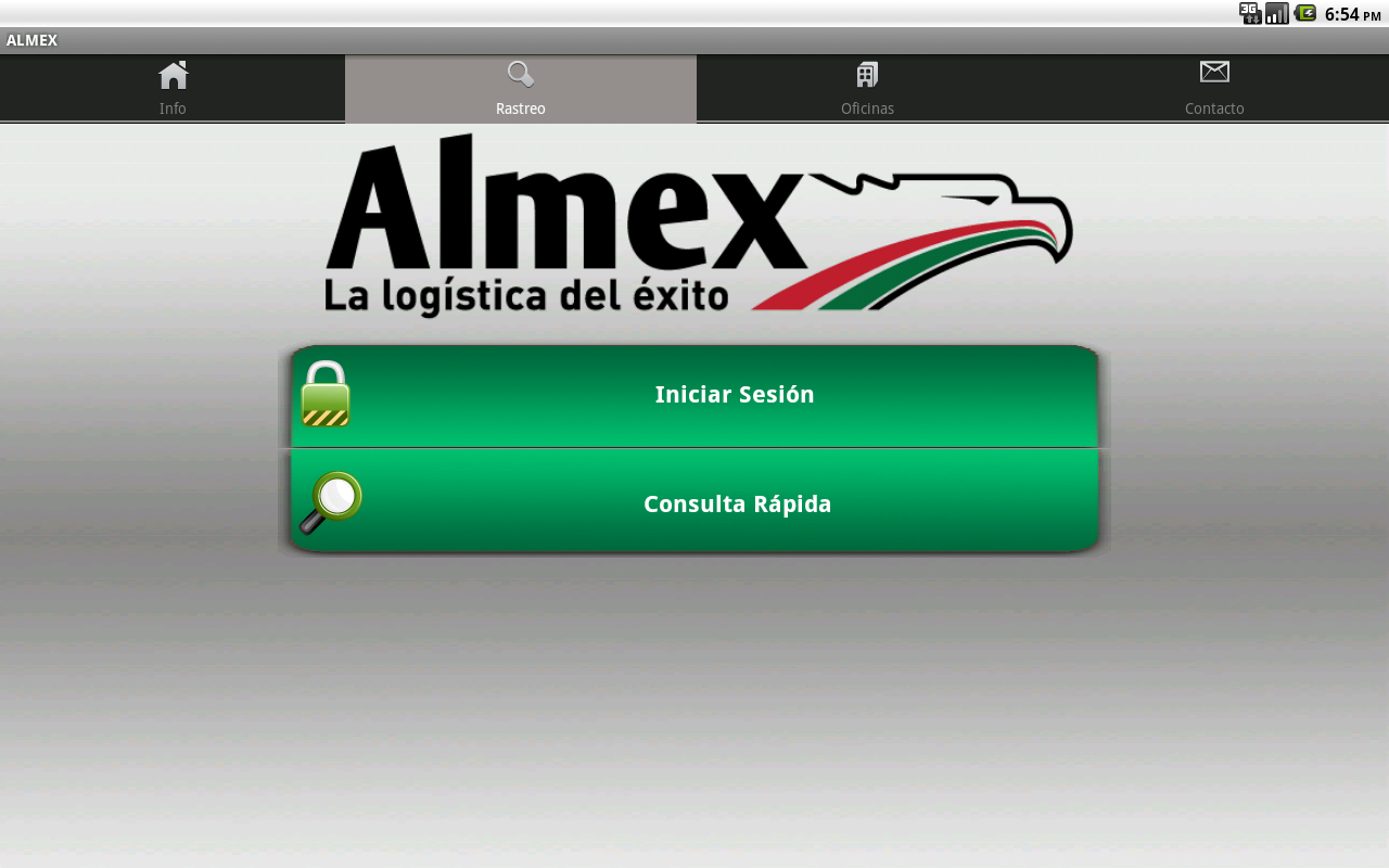 ALMEX- screenshot