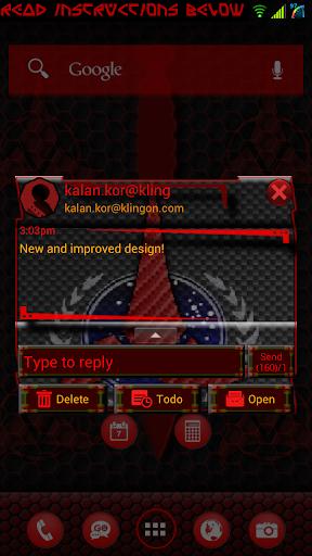 Klingon Alliance for GO SMS