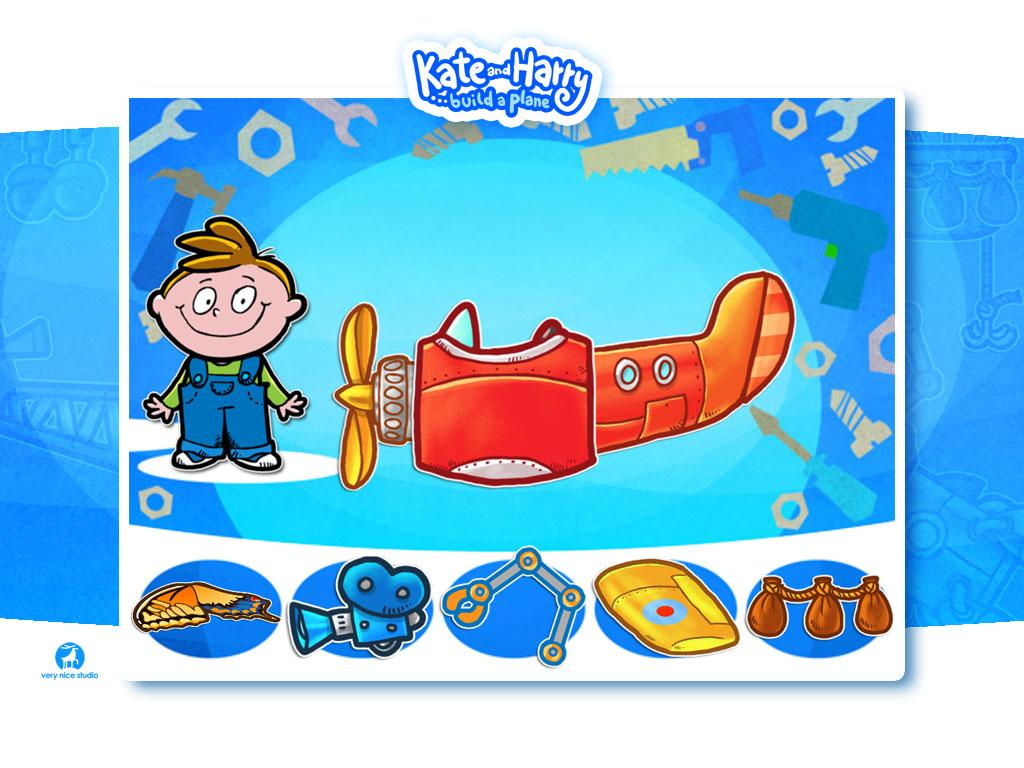 Build a Plane with Kate&Harry - screenshot