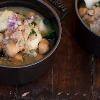 Chickpea Hot Pot.