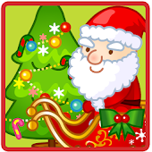 CUTE SANTA  FLYING GAME