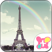 Rainbow Eiffel for[+]HOME