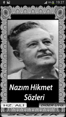 NAZIM HİKMET SÖZLERİ - screenshot