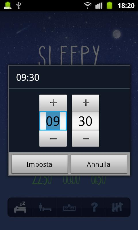 Sleepy - screenshot