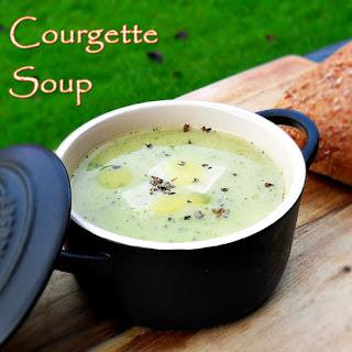 Courgette Soup.