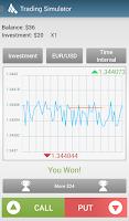 Screenshot of Trading Simulator