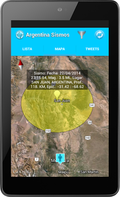Argentina Sismos - screenshot