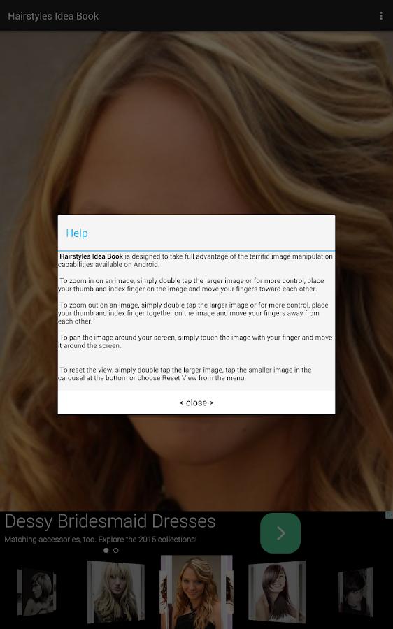Hairstyles Idea Book - screenshot
