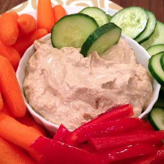 Slow Cooker Mediterranean Hummus.