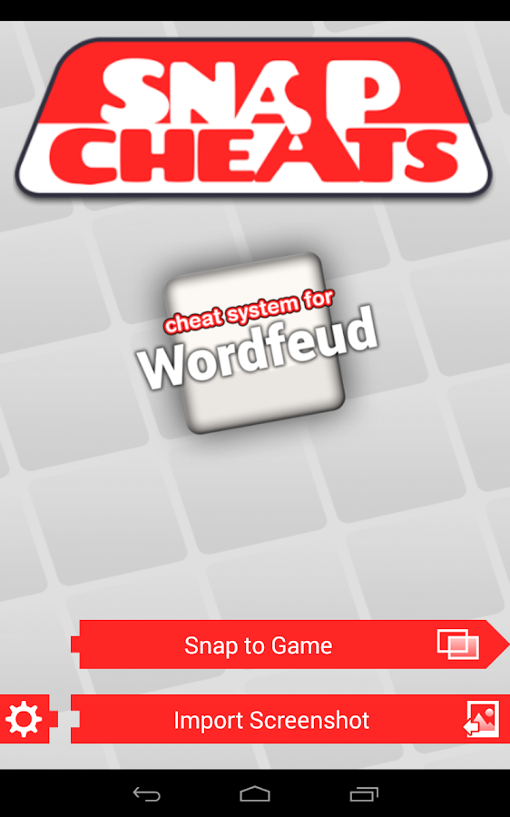 Snap Cheats: Wordfeud- screenshot