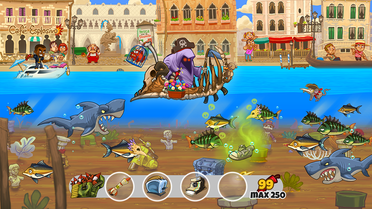 Dynamite fishing world games android apps on google play for Fishing games for free