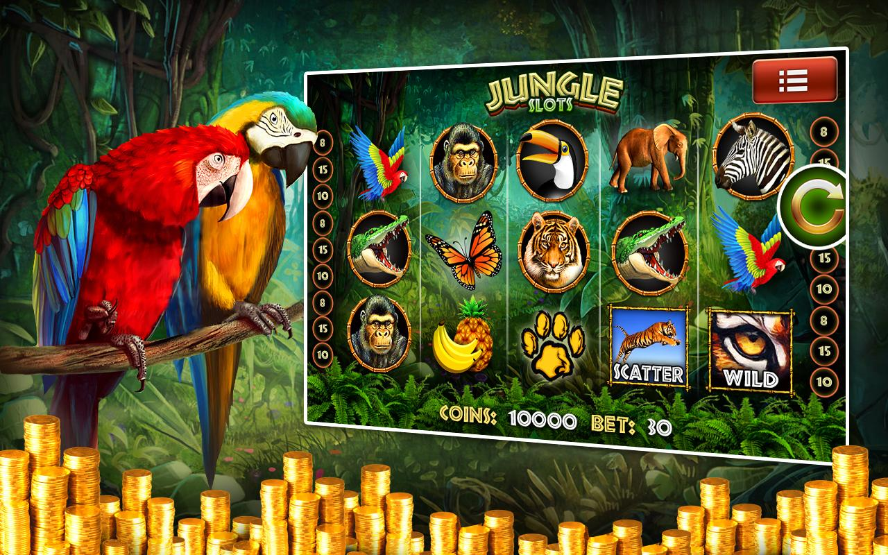 jungle 2 slot machine free