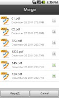 Screenshot of Foxit PDF Camera