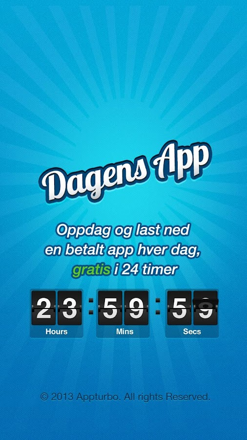 Dagens App (NO) - 100% Gratis - screenshot