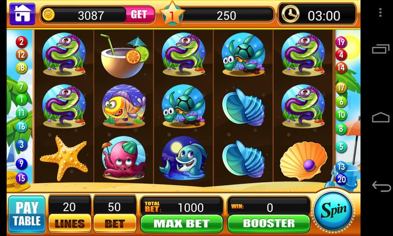 free slots casino games world of ocean