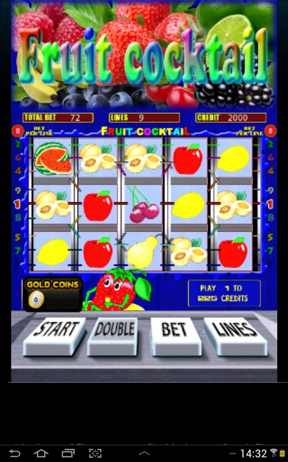 Fruit Cocktail Slots - screenshot