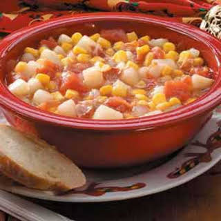 Tomato Corn Chowder.