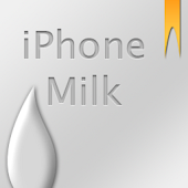 iPhone Milk GO Launcher EX
