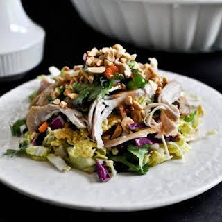 Thai Crunch Chicken Salad.