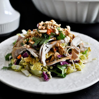 Thai Crunch Chicken Salad.