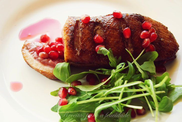 Duck Magret with Pomegranate Recipe