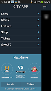 CityApp - Manchester City FC- screenshot thumbnail
