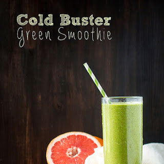 Cold Buster Green Smoothie.