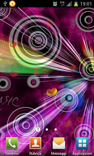 Sound of Love live wallpaper