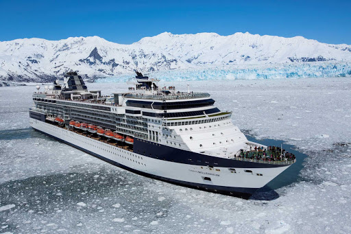 Celebrity_Millennium_Glacier_Bay_2 - Slicing through the ice of Alaska is one of the mesmerizing experiences you'll have aboard Celebrity Millennium.