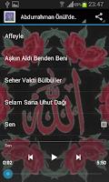Screenshot of Abdurrahman Önül İlahileri