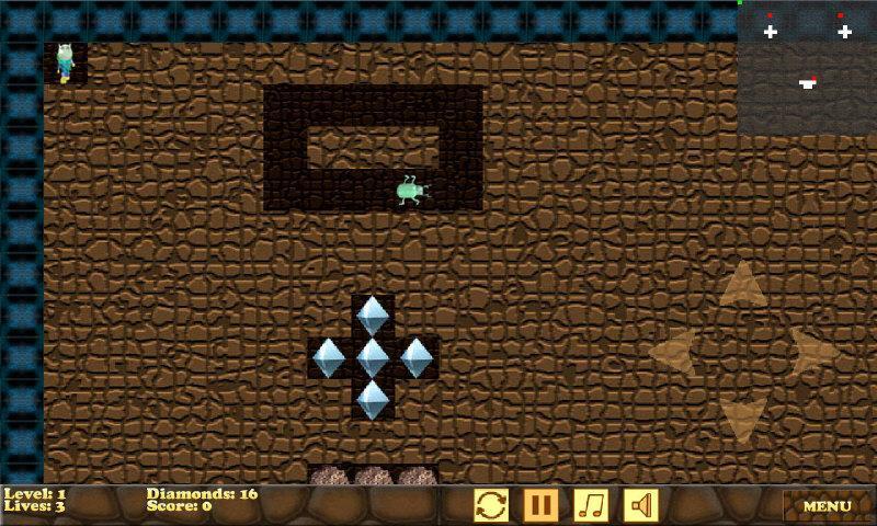 Boulder Crash- screenshot