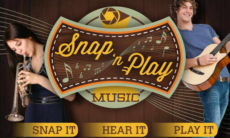SnapNPlay music Demo - screenshot