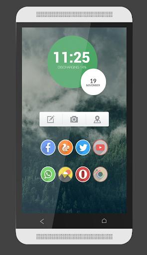 GreenCircle for Zooper Widget